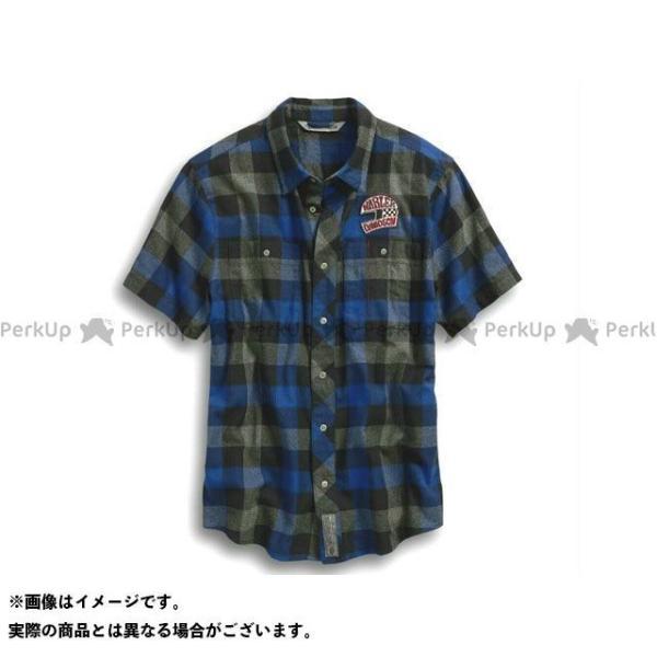 <title>ハーレーダビッドソン シャツS S 03 Plaid SlimFit 流行のアイテム Shirt サイズ:L HARLEY-DAVIDSON</title>