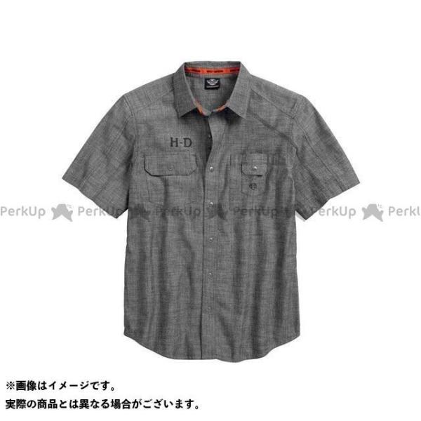 <title>ハーレーダビッドソン シャツS S Textured CanvasShirt 即納送料無料! サイズ:L HARLEY-DAVIDSON</title>
