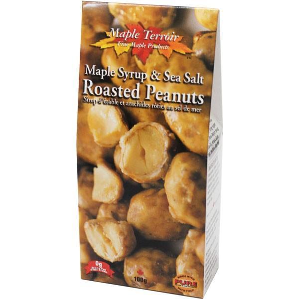 5箱 メープルシロップ&シーソルト ローストピーナッツ 100g 代引き不可