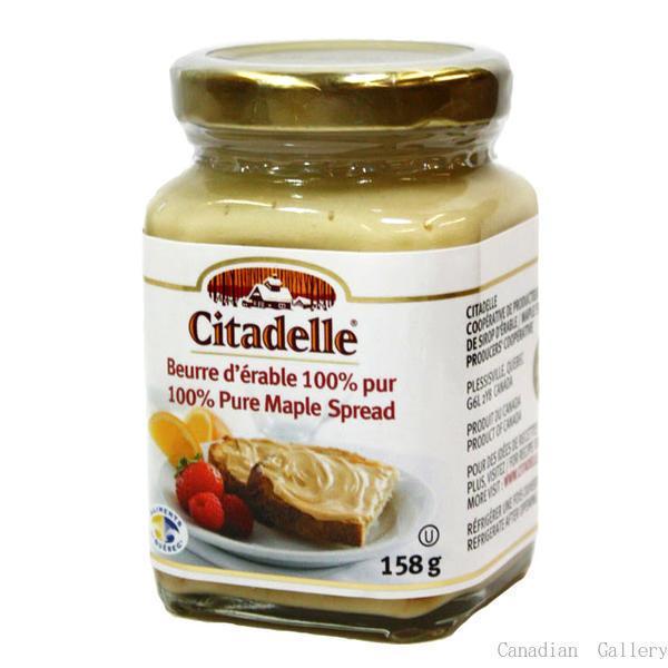 メープルバター味比べ、カナダ産100%ピュア、メープルバター、メープルテルワー、160g1本・シタデール 158g1本|canada|03