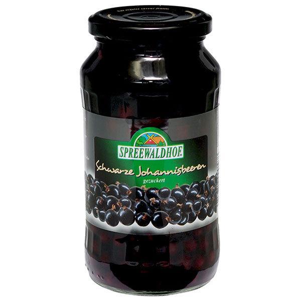 12個 シュプレーヴァルトフ ブラックカラント シロップ漬け 540g(固形量:225g)
