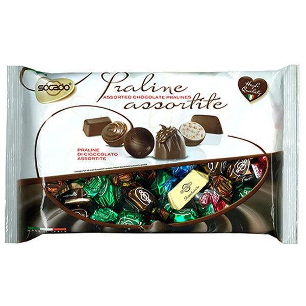 【2袋】ソカド プラリネ アソート チョコレート 500g    クール便配送の選択可能 沖縄は一部送料負担あり
