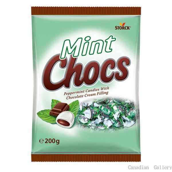 12袋 ストーク ミントチョコキャンディ 200gクール便配送の選択可能沖縄は一部送料負担ありsrk