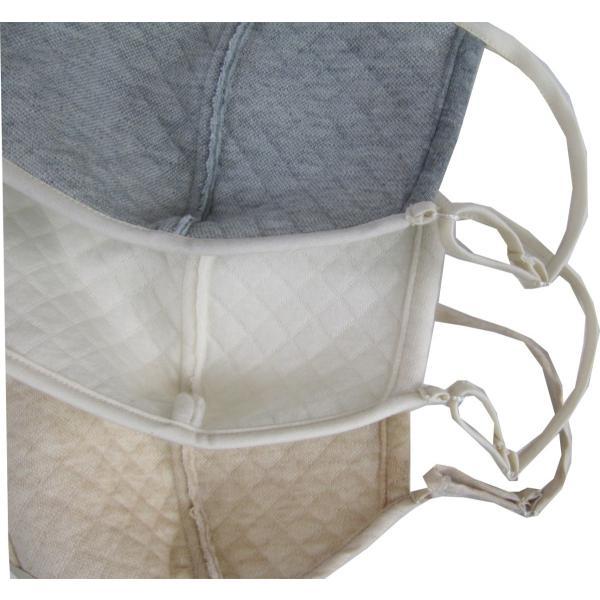 キルト立体マスク 洗濯機で洗える オーガニックコットン中綿以外使用 タイ製 NOCGREENBLUE認定商品|canalsigncom|08