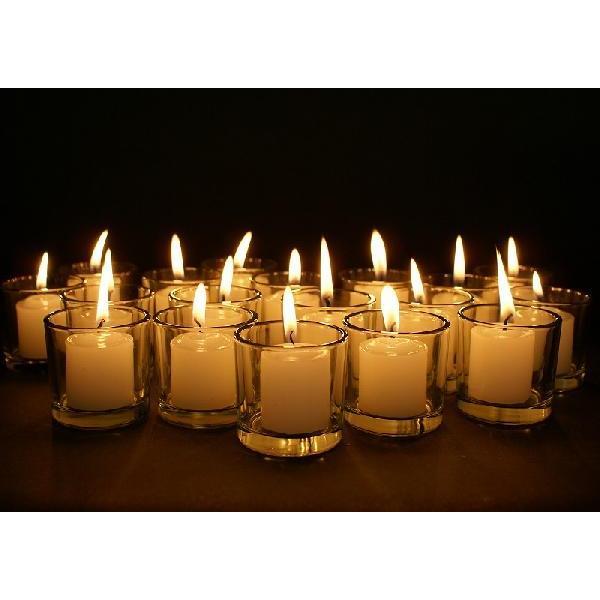 キャンドル用ガラスコップ 12個セット【ジェルキャンドル ゼリーキャンドル キャンドルグラス】 candle21 02