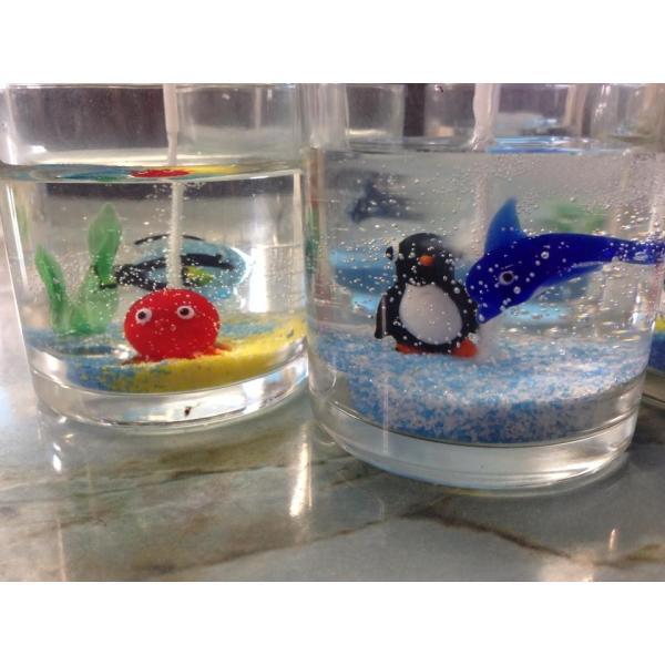 キャンドル用ガラスコップ 12個セット【ジェルキャンドル ゼリーキャンドル キャンドルグラス】 candle21 03