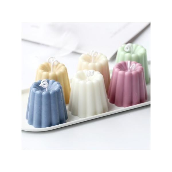 シリコン カヌレ型 4個組 キャンドルモールド|candle21|02