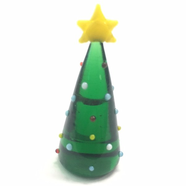 ジェルキャンドル ガラス細工 クリスマスツリーA クリスマス|candle21