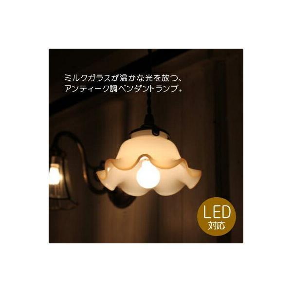 【LED電球対応】ペンダントランプ ガラスシェード ミルクガラス 小さめ コードサイズ変更可! 取付簡単 可愛い キッチン 玄関 廊下 トイレ|candoll-2014