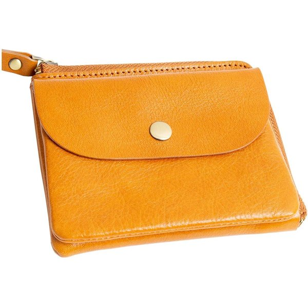 ラフィカロ ミニ財布レディースコンパクトキーリング付きL字ファスナー本革牛革イタリアンレザーさいふ薄い軽い小さい財布コイン