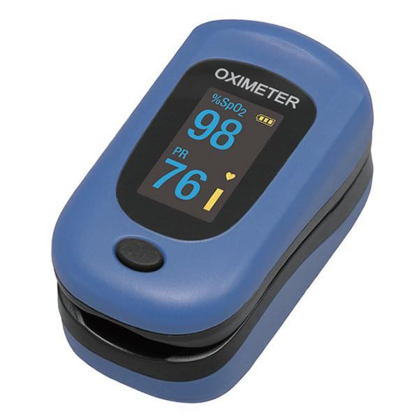 即納 フィンガーパルスオキシメータ PC-60B1 (送料無料) 血中酸素濃度 血中酸素飽和度 酸素濃度計 脈拍 還流指数 コンパクト  パルスオキシメーター