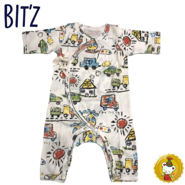 ビッツ〔BIT'Z〕グレコベビー肌着 (50cm-70cm) 長肌着 男の子