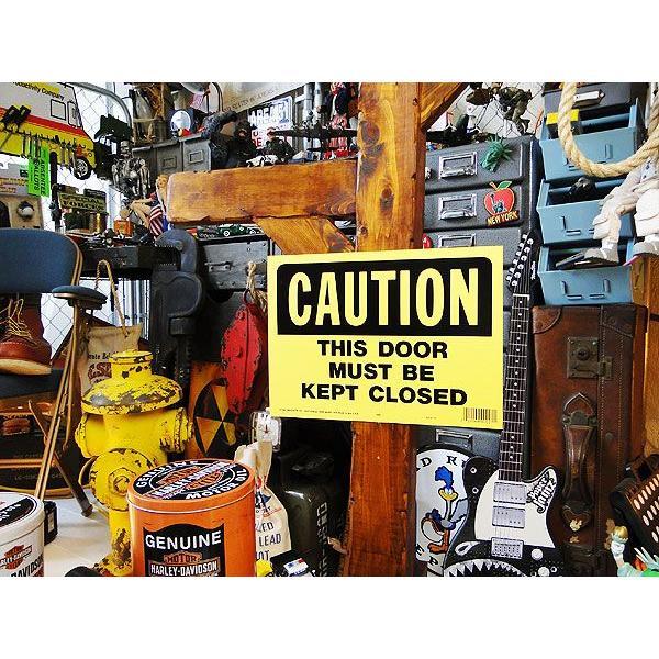 アメリカのプラスチックサインボード ヘビーオンスタイプ(このドアは必ず閉めて下さい) アメリカ雑貨 アメリカン雑貨 おしゃれ おもしろ 人気|candytower|02