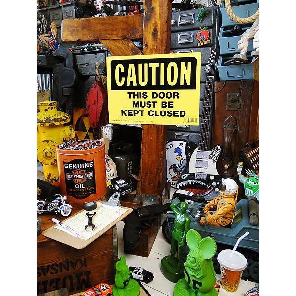 アメリカのプラスチックサインボード ヘビーオンスタイプ(このドアは必ず閉めて下さい) アメリカ雑貨 アメリカン雑貨 おしゃれ おもしろ 人気|candytower|03