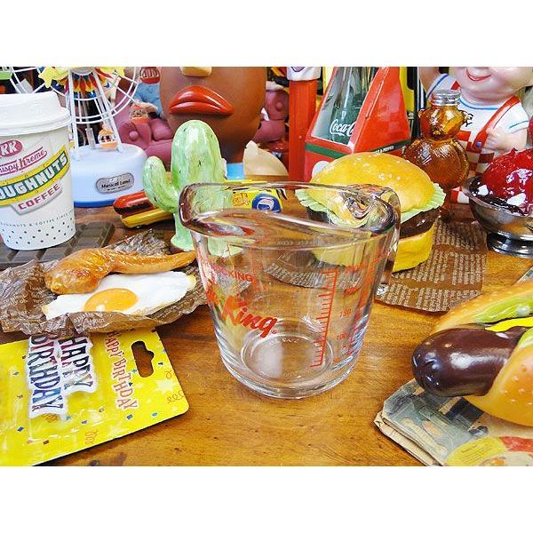 ファイヤーキングのメジャーリングカップ(250ml) アメリカン雑貨 アメリカ雑貨