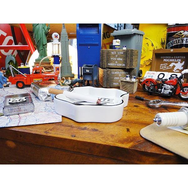 ルート66のロードサイン型アシュトレイ アメリカ雑貨 アメリカン雑貨 おしゃれ candytower 02