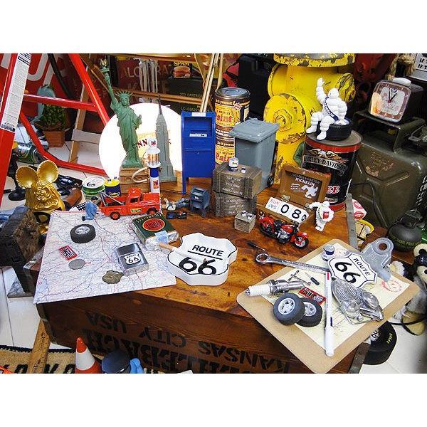 ルート66のロードサイン型アシュトレイ アメリカ雑貨 アメリカン雑貨 おしゃれ candytower 04