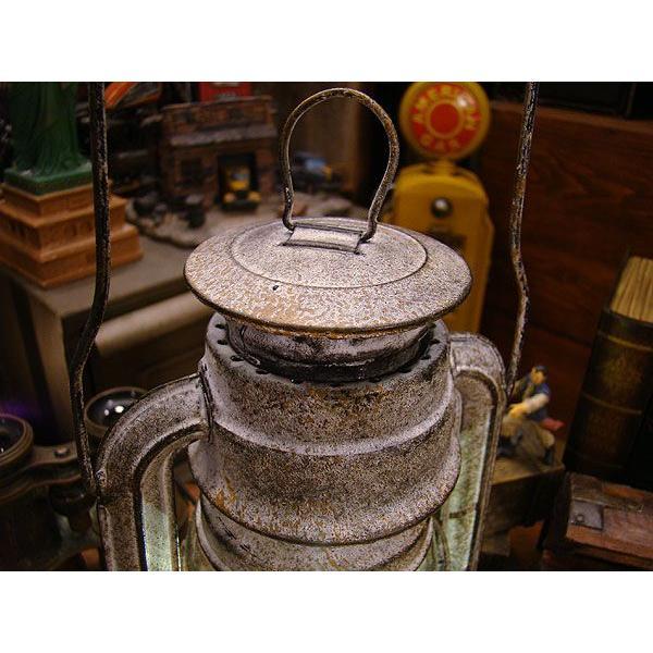 古めかしいアンティークランタン風のテーブルライト(LEDライト仕様/ACアダプター付属) Lサイズ/ホワイト アメリカン雑貨 アメリカ雑貨|candytower|02