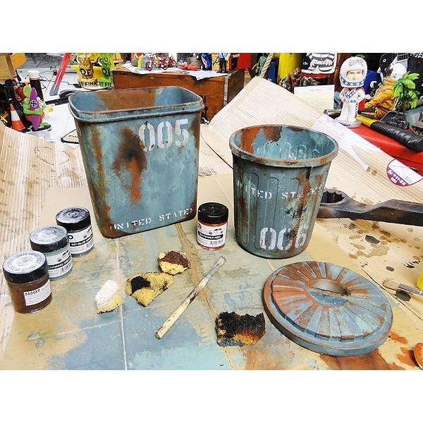 サビサビ塗装用のオリジナル塗料 5色エイジングカラーセット お試しサイズ(50ml) アメリカ雑貨 アメリカン雑貨|candytower|06