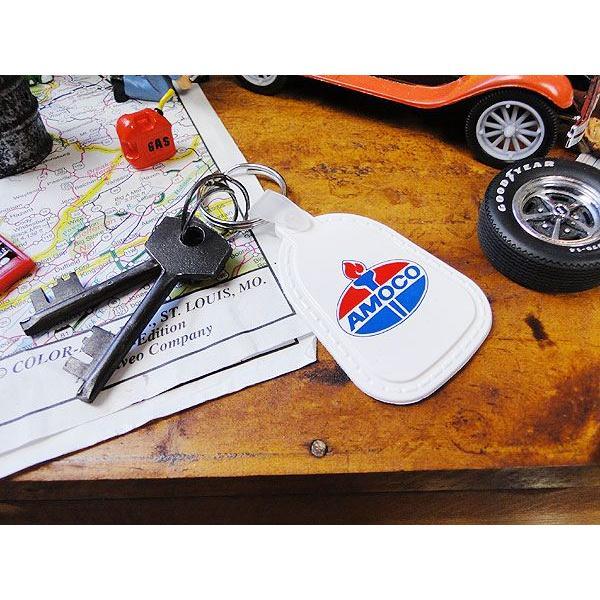 アモコのアドバタイジングキーリング アメリカ雑貨 アメリカン雑貨 インテリア 雑貨 グッズ ブランド