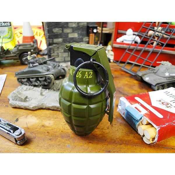 手榴弾のターボライター アメリカ雑貨 アメリカン雑貨 おしゃれ 屋外 分煙 おもしろ雑貨 輸入 インテリア 人気 通販 ギフト