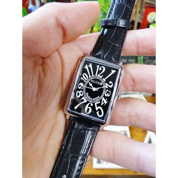 天才時計師フランク三浦の腕時計 初号機(改)通常サイズ(ハイパーブラック) アメリカ雑貨|candytower