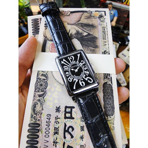 天才時計師フランク三浦の腕時計 初号機(改)通常サイズ(ハイパーブラック) アメリカ雑貨|candytower|02