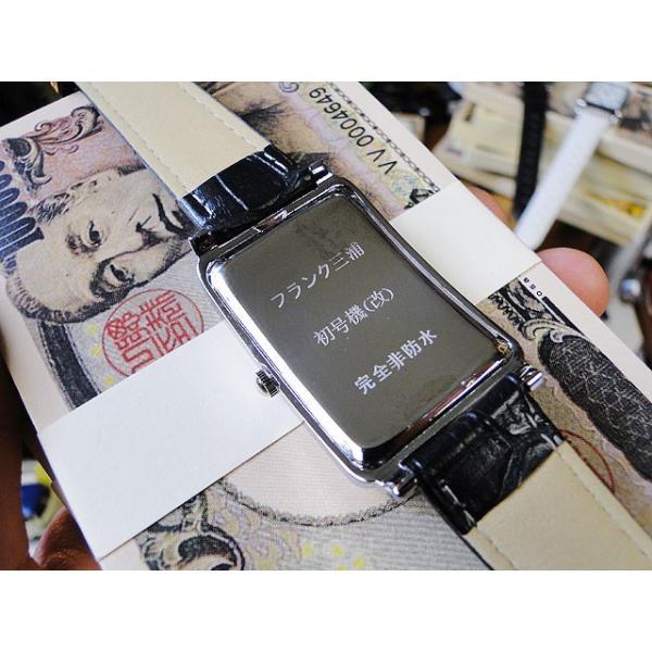 天才時計師フランク三浦の腕時計 初号機(改)通常サイズ(ハイパーブラック) アメリカ雑貨|candytower|05