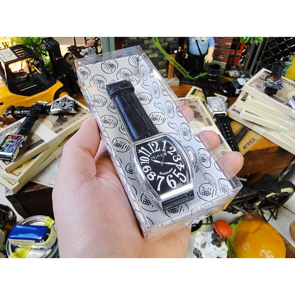 天才時計師フランク三浦の腕時計 初号機(改)通常サイズ(レインボーホワイト) アメリカ雑貨 candytower 05