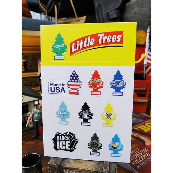 リトルツリーのミニステッカー アメリカ雑貨 アメリカン雑貨|candytower