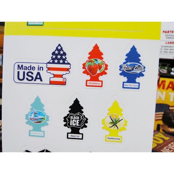 リトルツリーのミニステッカー アメリカ雑貨 アメリカン雑貨|candytower|03