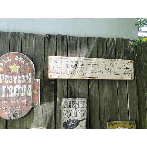 ルート66マップの木製看板 アメリカ雑貨 アメリカン雑貨|candytower|11