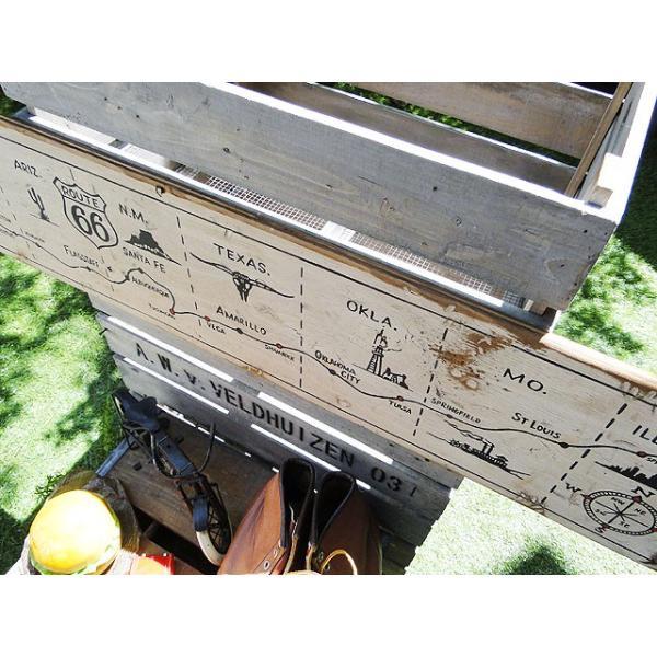 ルート66マップの木製看板 アメリカ雑貨 アメリカン雑貨|candytower|05