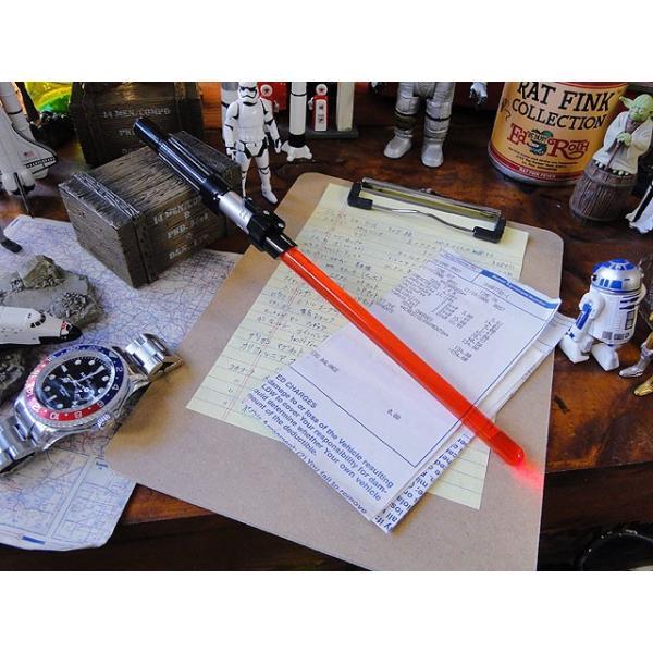 スターウォーズのライトセーバーペン LEDライト搭載(ダースベイダー) アメリカ雑貨 アメリカン雑貨|candytower|05