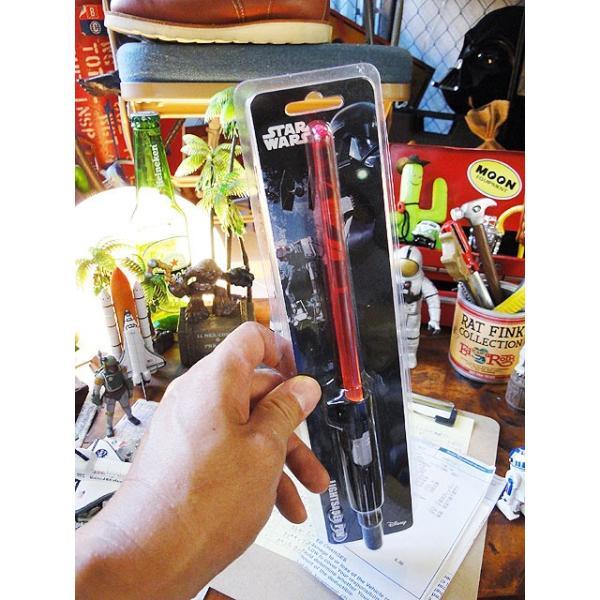 スターウォーズのライトセーバーペン LEDライト搭載(ダースベイダー) アメリカ雑貨 アメリカン雑貨|candytower|08