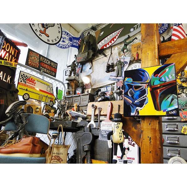 映画「スターウォーズ」のポップアートフレーム(ボバ・フェット) ■ アメリカン雑貨 アメリカ雑貨  パネル ポスター|candytower|05