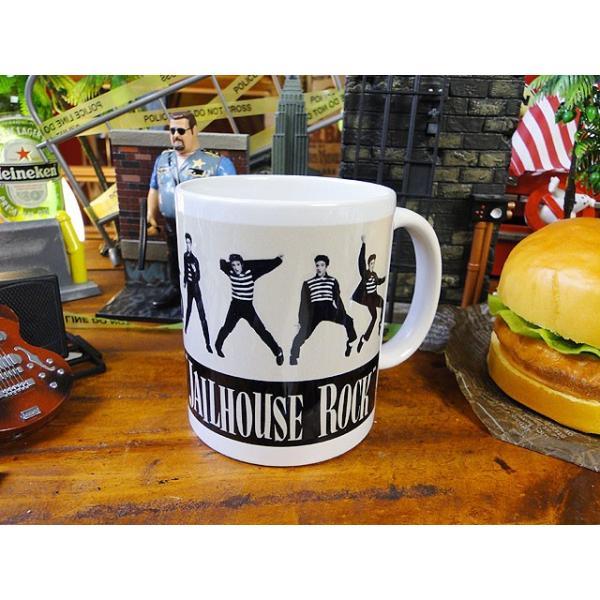 エルヴィス・プレスリー「監獄ロック」のオフィシャルマグカップ■アメリカン雑貨アメリカ雑貨