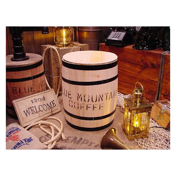 コーヒー木樽(小だる)無色 アメリカ雑貨 アメリカン雑貨 おしゃれ ゴミ箱 カントリー雑貨 ナチュラル|candytower