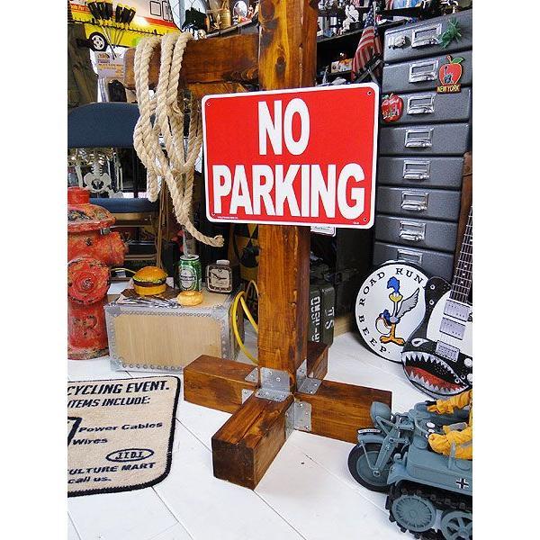 アメリカのプラスチックサインボード ヘビーオンスタイプ(駐車禁止) アメリカ雑貨 アメリカン雑貨|candytower|02