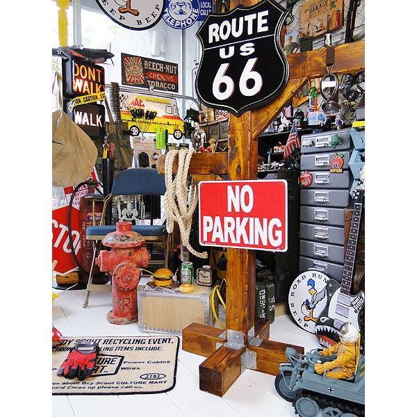 アメリカのプラスチックサインボード ヘビーオンスタイプ(駐車禁止) アメリカ雑貨 アメリカン雑貨|candytower|03