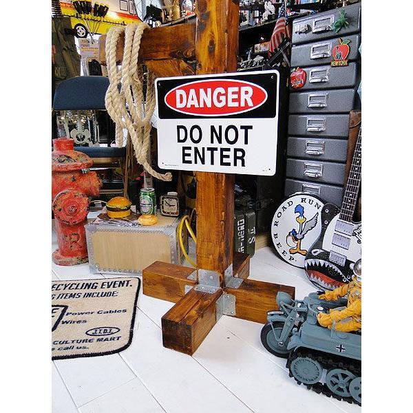 アメリカのプラスチックサインボード ヘビーオンスタイプ(危険立入禁止) アメリカ雑貨 アメリカン雑貨|candytower|02