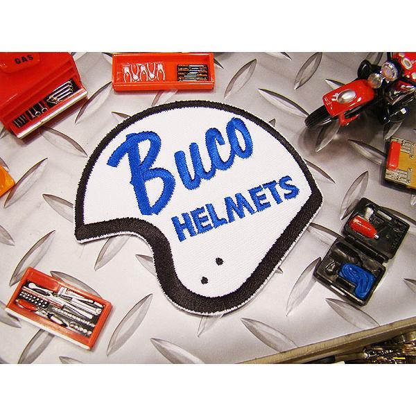 ブコヘルメットのワッペン アメリカ雑貨 アメリカン雑貨 アイロン 人気 ブランド おしゃれ アルファベット 車 エンブレム ミニ ロゴ