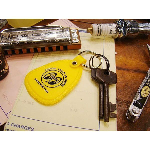 ムーンアイズのシューホーンキーリング(イエロー) アメリカ雑貨 アメリカン雑貨 インテリア 雑貨 グッズ ブランド