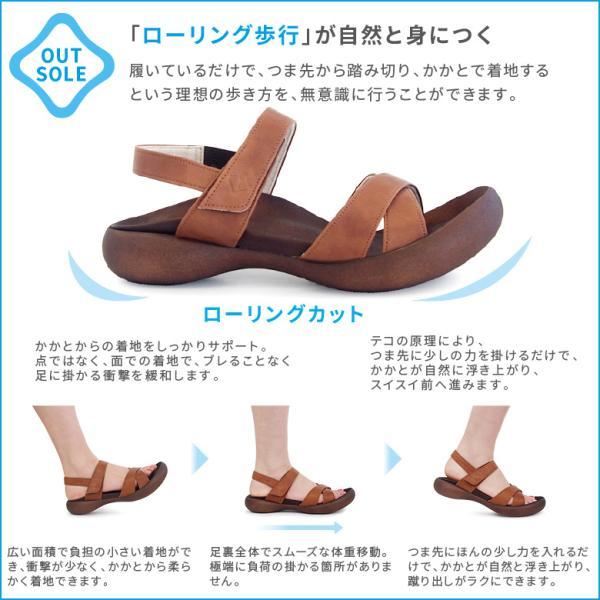 リゲッタ カヌー サンダル レディース バックストラップ ぺたんこ フラット リゲッタカヌー 履きやすい 疲れにくい 痛くない 夏 日本製 CJFD5326|canoe-trico|17