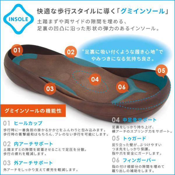 リゲッタ カヌー サンダル メンズ レディース 男女兼用 3ベルト ライトフット 歩きやすい おしゃれ 履きやすい 黒 日本製 CJLF2113 CJLF2114|canoe-trico|15