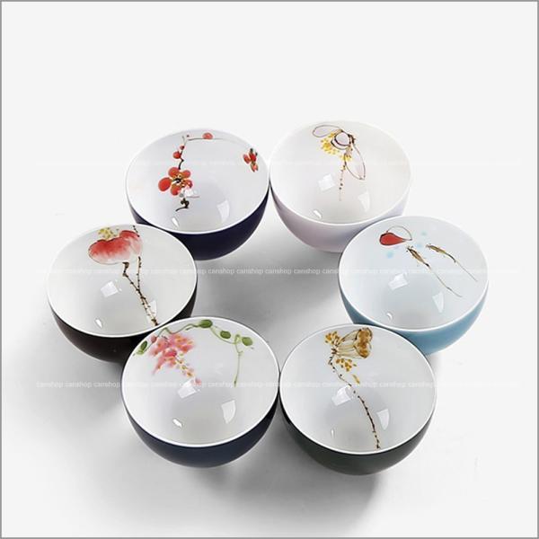 中国茶器 徳化県製造 手描きの茶...