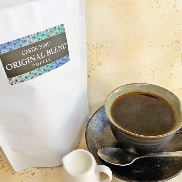 CANTIK-MANISオリジナルブレンドコーヒー(豆挽き済)300g【クリックポスト送料無料】|cantik-manis111|02