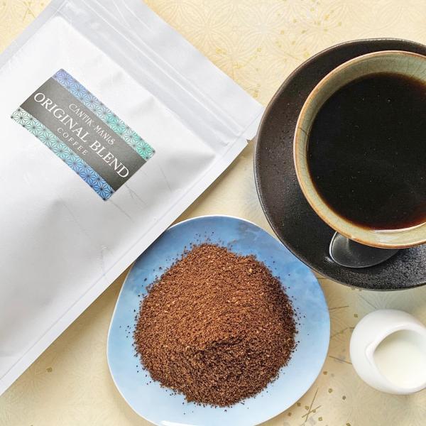 CANTIK-MANISオリジナルブレンドコーヒー(豆挽き済)300g【クリックポスト送料無料】|cantik-manis111|03