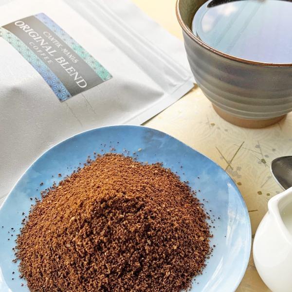 CANTIK-MANISオリジナルブレンドコーヒー(豆挽き済)300g【クリックポスト送料無料】|cantik-manis111|04