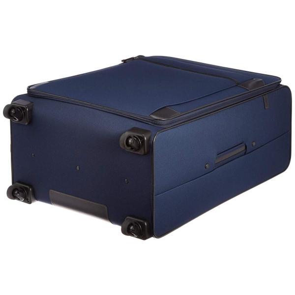 [エースドット] ソフトケース デュベリーTR ストッパー付き静音キャスター 82L 65.0cm 4.5kg 54974 03 ネイビー